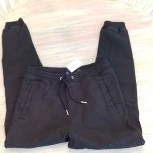 Men's size 30 H&M black joggers New with tags